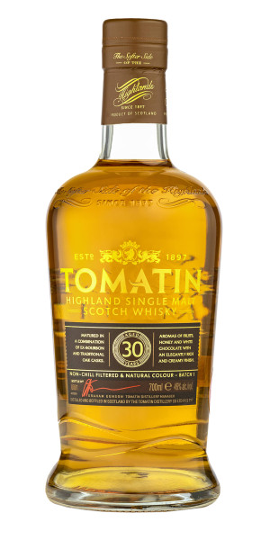 Whisky Tomatin 30 yo, Single Malt, 46%, 700 ml