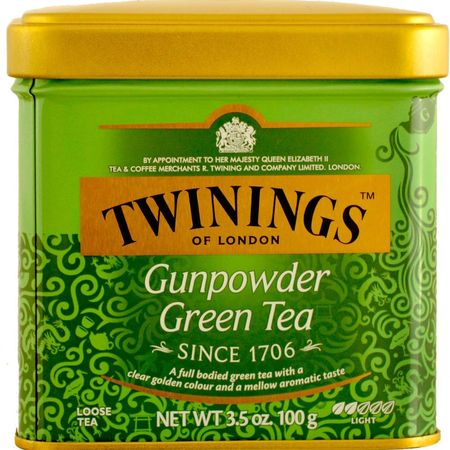 Ceai verde Gunpowder 100g Twinings
