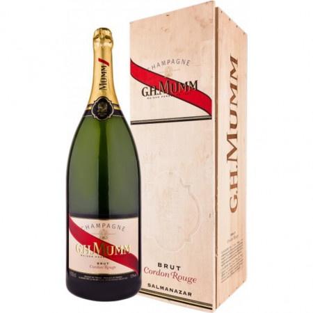 Sampanie Mumm Cordon Rouge, 9000 ml