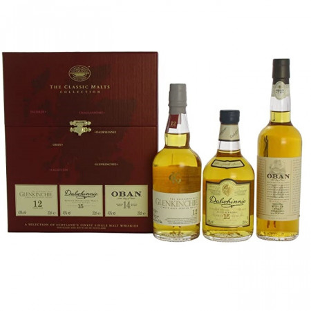 The Classic Malts Whisky Collection 1, 3 x 200 ml