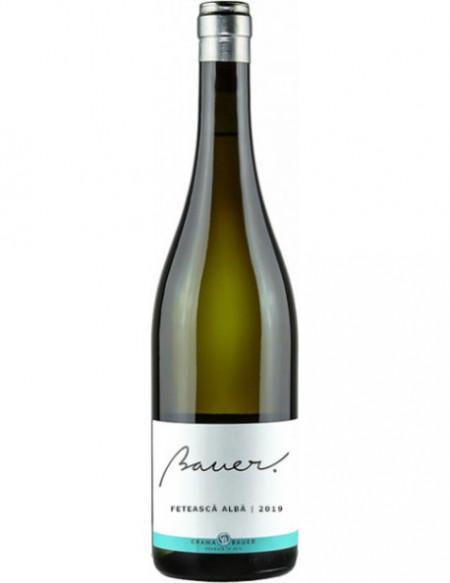 Vin alb Crama Bauer, FETEASCA ALBA BAUER 2019, 750 ml