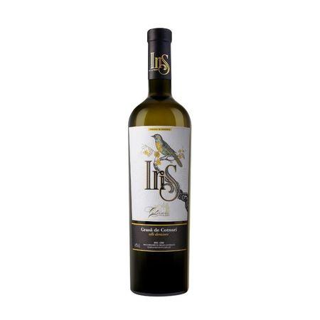 Vin alb demisec Iris Grasa de Cotnari - 12.6 % - 750 ml