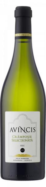 Vin alb sec Avincis Cramposie Selectionata 750 ml