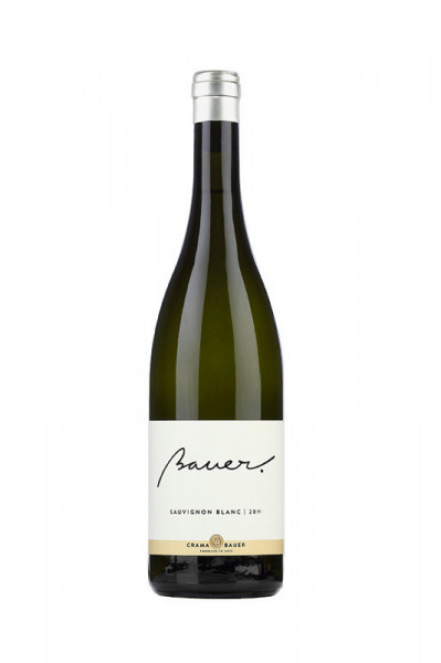 Vin alb sec Bauer, Sauvignon Blanc, 750 ml