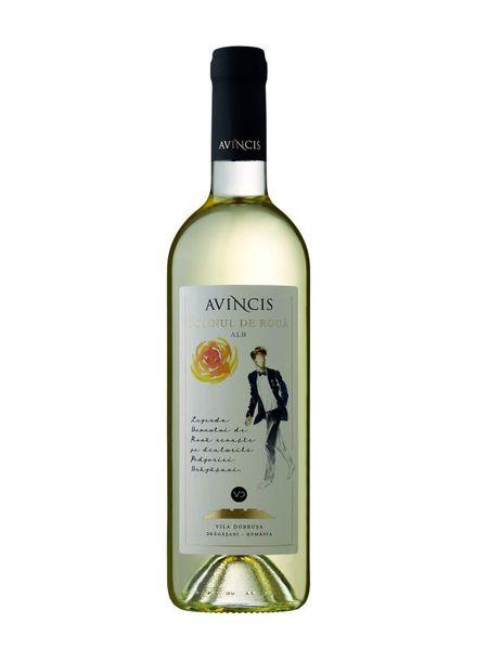 Vin alb sec Domnul de Roua alb 13 % - 750 ml