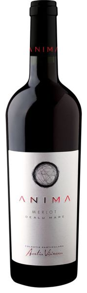 Vin rosu sec Anima Aurelia Visinescu Merlot 14.5 % - 750 ml