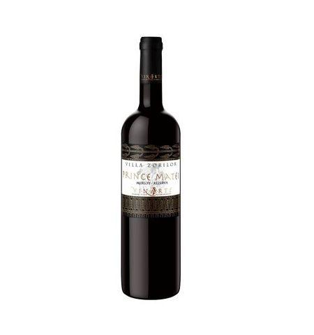 Vin rosu sec Prince Matei Merlot 14.5 % - 750 ml - an 2001