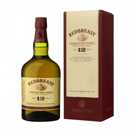 Whiskey irlandez, Redbreast 12 ani, Single Pot Still, 700 ml