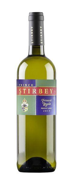 Vin alb Stirbey Feteasca Regala Genius Loci 13.5% - 750 ml