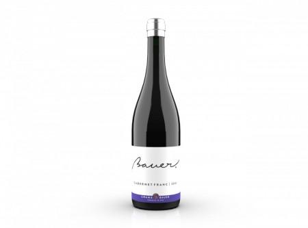 Vin rosu sec Bauer Cabernet Franc 2018 750 ml