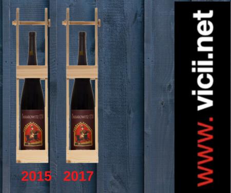 Vin rosu sec, pachet Passarowitz 1718 Oprisor 2015, 2017 2 x 1500 ml