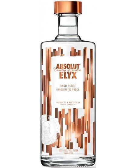 Vodka Absolut Elyx, 1000 ml