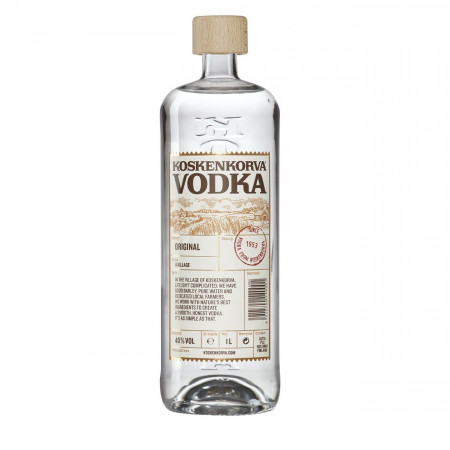 Vodka, Koskenkorva, 1000 ml