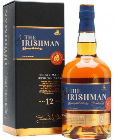 Whiskey irlandez The Irishman 12 Ani 700 ml