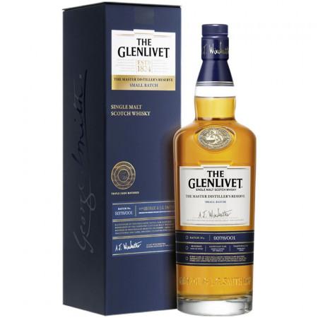 Whisky GLENLIVET MASTER DISTILLER'S RESERVE SMALL BATCH, 40%, 700 ml