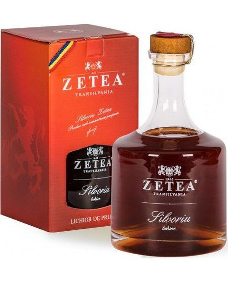 Zetea Silvoriu Lichior de Prune - 500 ml 21 %