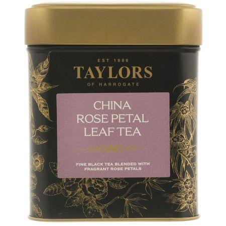 Ceai negru Taylors of Harrogate cu petale de trandafir 125g