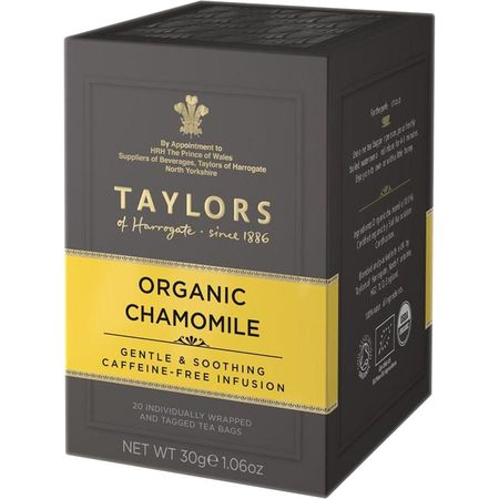 Ceai organic de musetel Taylors of Harrogate 20 pliculete a cate 1.5g