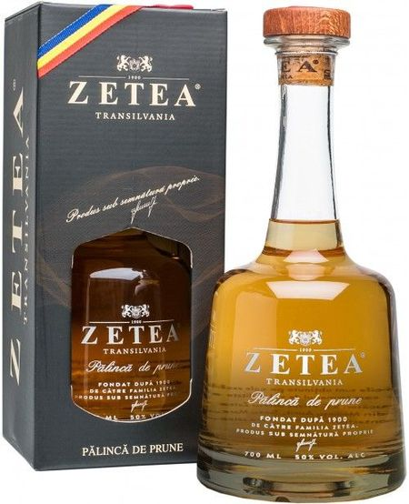 Palinca Zetea Cutie Cadou 50% - 700 ml