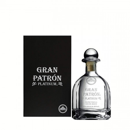 Tequila, Gran Patron, Platinum Silver, 700 ml