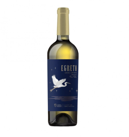 Vin alb sec, Egreta, Aligote fume, 750 ml
