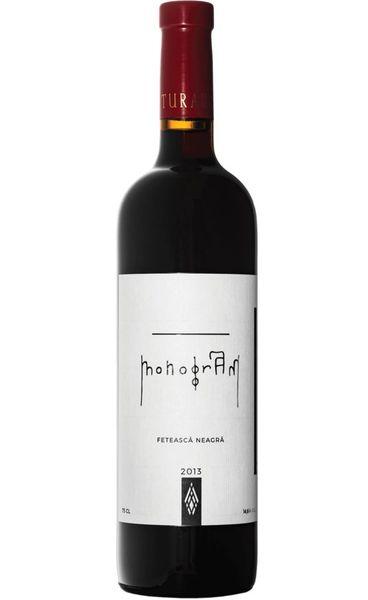 Vin rosu sec Davino Monogram Feteasca Neagra 14.6 % - 750 ml