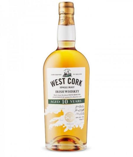 West Cork 10 yo, 40%, 700 ml