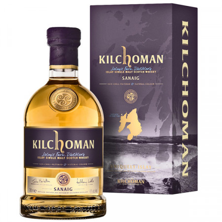 Whisky Kilchoman Sanaig, 46%, 700 ml