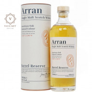 Whisky Arran Barrel Reserve in cutie cadou, 43 %, 700 ml