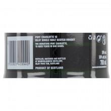 Bruichladdich Port Charlotte 10 yo bottle label back ean
