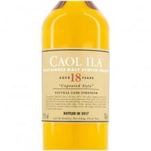 Caol Ila 18 yo Unpeated Bottle label