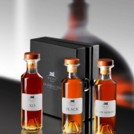 Cognac Deau Tasting Kit XO Black Louis 40% - 3 X 200 ml