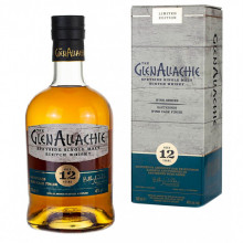 Glenallachie 12 yo 48 %, Wine Series - Sauternes Wine Cask Finish, 700 ml