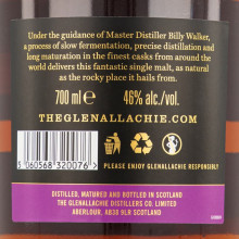 Glenallachie 12 yo bottle back ean