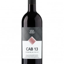 Vin rosu sec CAB 17 Via Sandu - 750 ml