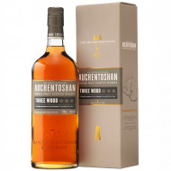 Whisky Auchentoshan Three Wood 43%, 700 ml