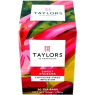 Ceai cu rubarba dulce Taylors of Harrogate 20 pliculete a cate 2.5g