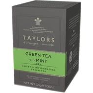 Ceai verde cu menta Taylors of Harrogate 20 pliculete a cate 1.5g