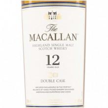 Macallan double cask 12 yo label