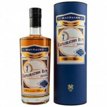 MacNairs Exploration 7 yo Peated Rum, Panama (Billy Walker Glenallachie), 46%, 700 ml