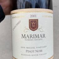 Vin rosu sec Marimar, Torres Estate, Pinot Noir Russian River Valley, 2001 - 750 ml