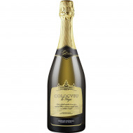 Vin spumant alb, Colocviu la Praga, Tamaioasa Romaneasca, Brut, 750 ml