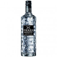 Vodka Three Sixty, 37.5%, 1000 ml