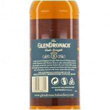 Glendronach batch 8 bottle back
