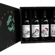 Vin rosu sec - Nenumita - cutie lemn 4 x 750 ml