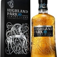 Whisky Highland Park 10 Ani Viking Scars 700 ml