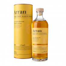 Whisky Arran Sauternes Finish, cutie cadou 50%, 700 ml