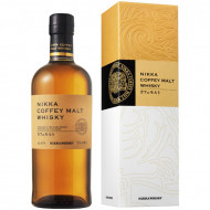 Whisky japonez Nikka Coffey Malt 700 ml
