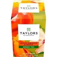 Ceai verde cu Hibiscus si piersica Taylors of Harrogate 20 pliculete a cate 1.5g