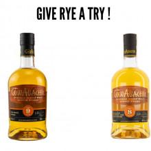 Glenallachie 8 yo, 9 yo 48 % koval rye quarter cask & rye - 700 ml